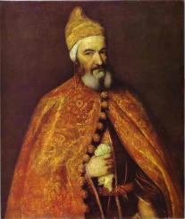 Marcantonio Trevisan by Titian. (1554)