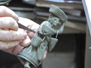 Presepio figure - Naples.