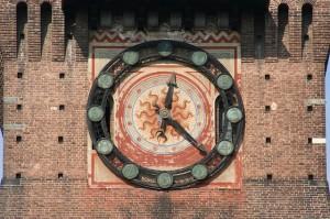 clock milan