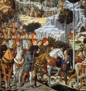 A Medici Entourage.