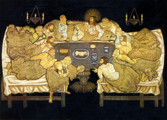 last-supper- altar dossal 1633