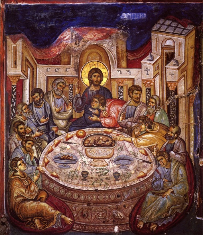 last supper icon early 14 c