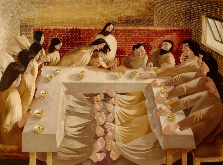Stanley Spencer Last Supper